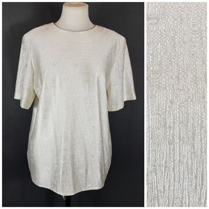 4/10- Large Notations blouse